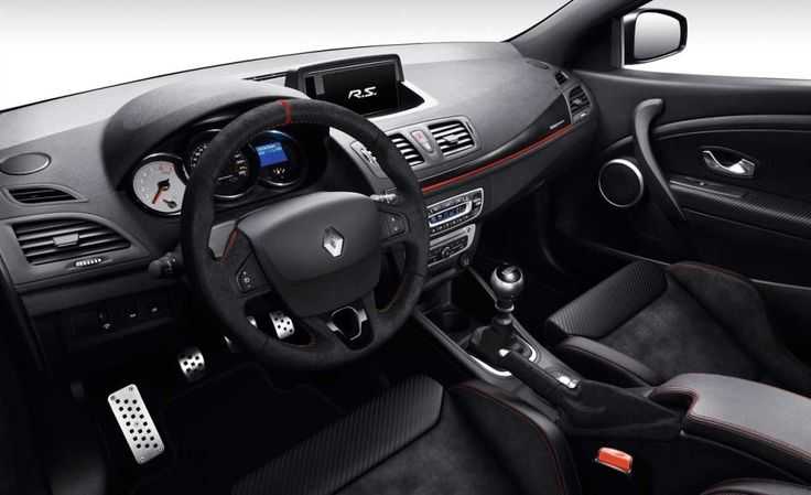 Interior New 2015 Renault Megane RS 275 Trophy