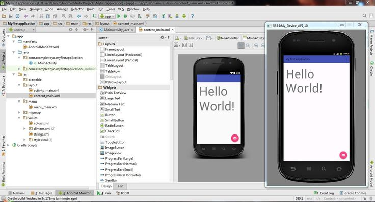Create your Virtual Device (EMULATOR) in Android Studio 1.4 H