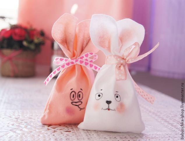 Шьем мешочек в виде пасхального кролика - Ярмарка Мастеров - ручная работа, handmade