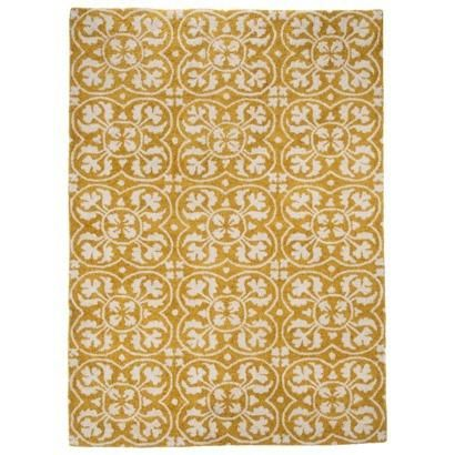 Threshold Lattice Area Rug Yellow Pins You Love