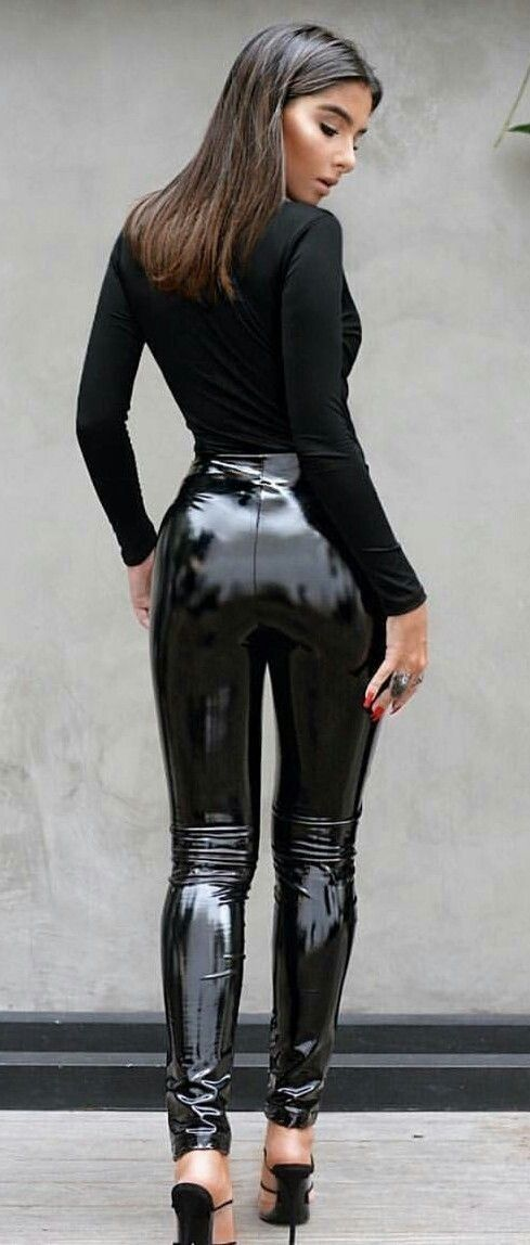 75d5d72df05494 Pin by Bobby flay on Latex 3 | Leather Leggings, Shiny leggings, Pvc  trousers