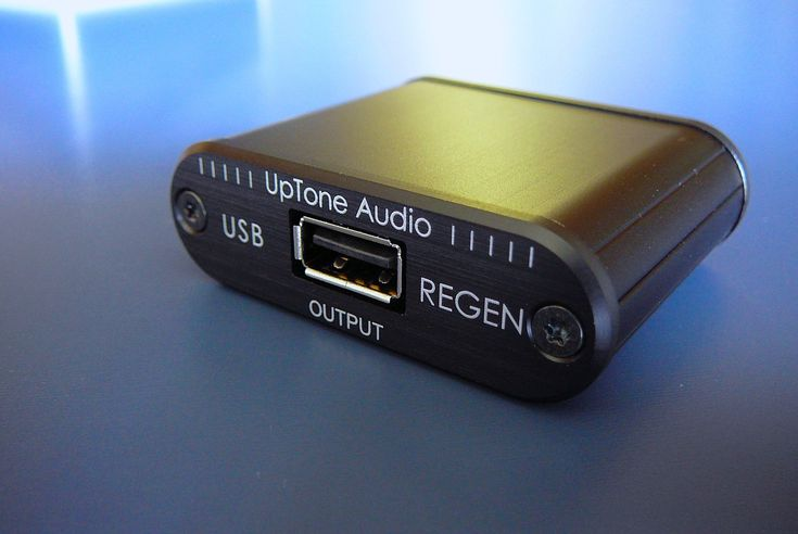 The REGEN's primary function is to generate a completely new USB data signal from a carefully chosen USB hub chip running from an ultra low-noise regulator and low-jitter clock—which it does with ideal impedance matching and right at the input of your DAC. Its secondary function is that it interrupts the 5VBUS of the USB cable coming into it, and provides clean 5VBUS on its output—for DACs that need it—via a second ultra low-noise regulator.