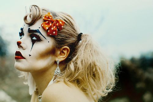 clown makeup | Tumblr