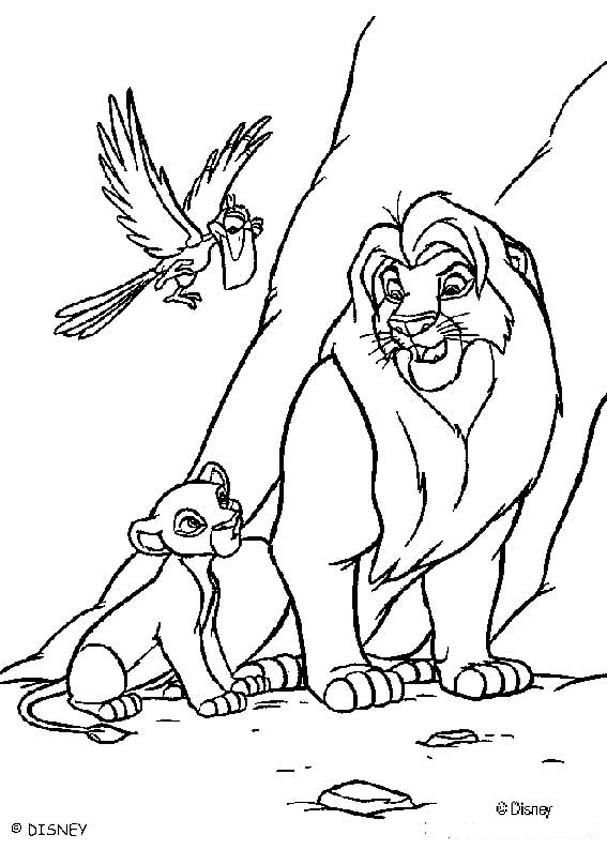 73 best Leeuwenkoning images on Pinterest Disney coloring pages