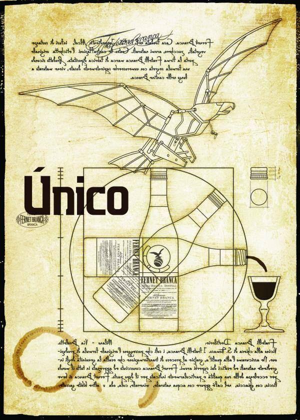 Creación Única Fernet Branca Arte Único 2013