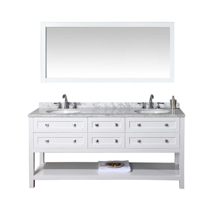 Photo Gallery For Website Infuse a new realm of luxury to your bathroom space by including the dCOR design double sink bathroom vanity set Featuring a solid wood construction for