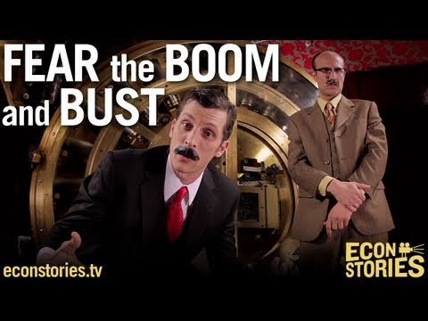 """▶ """"Fear the Boom and Bust"""" a Hayek vs. Keynes Rap Anthem - YouTube. Differing attitudes towards economics drive different attitudes toward family policy. #historyfp #familypolicy"""