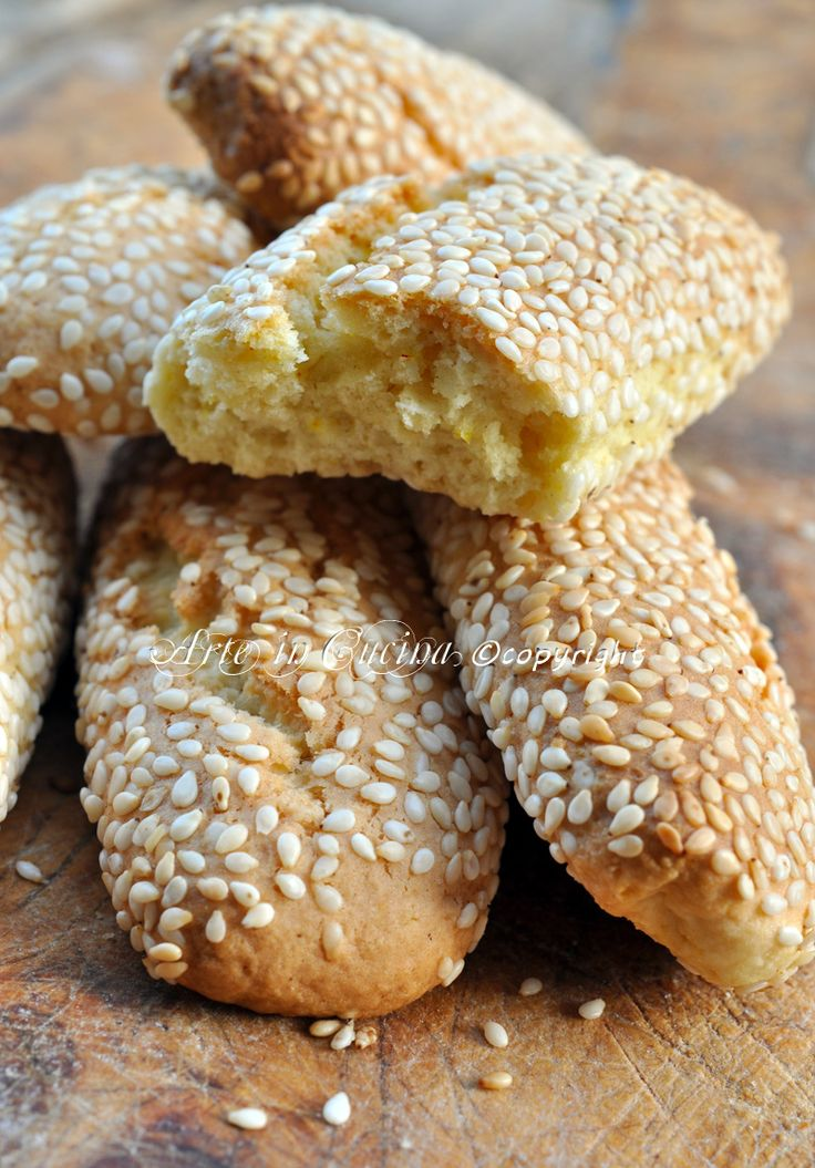 Reginelle Palerme recette biscuits pour l'art sicilien dans la cuisine