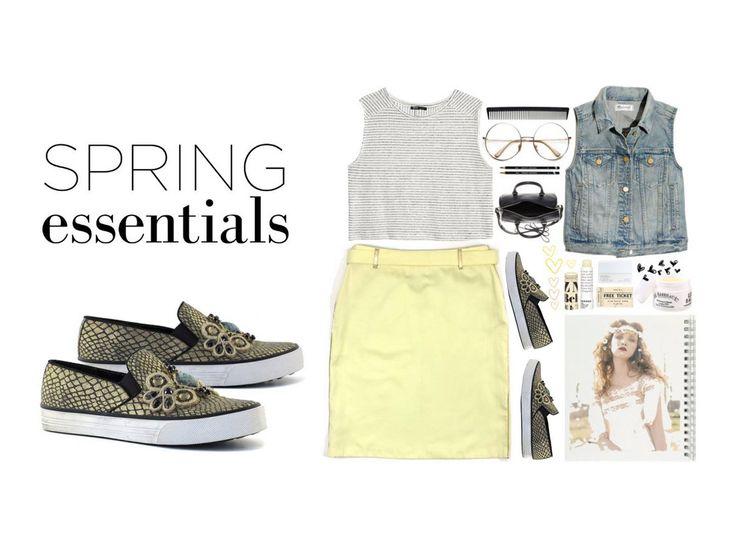 Spring essentials #colorsofcalifornia #outfit