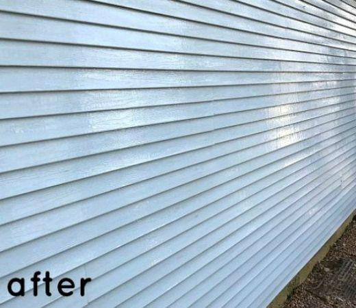 Best Easiest Way To Clean Vinyl Siding Cleaning Vinyl Siding Vinyl Siding Clean Siding 400 x 300