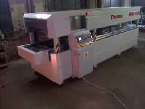 TICON - conveyor oven with variable speed