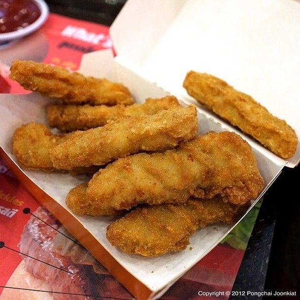 Burger King Chicken Tenders