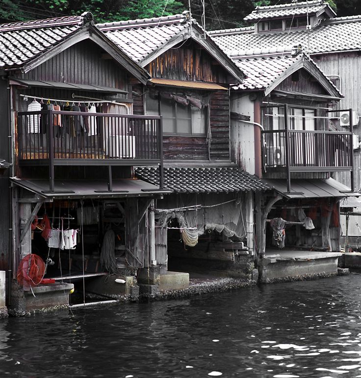 55 best images about tea house on pinterest house the for Boat garage on water