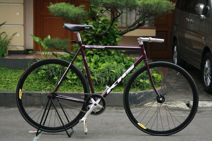Purple Khs Flite Lovely Color Bikes Pinterest Fixie