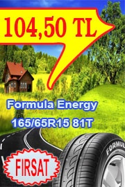 Formula Energy (Pirelli) Oto Lastik 165/65R15 81T Energy irelli Türkiye Fabrikasında Türkiye Yolları İçin Özel Üretilmiş %100 Türk Malı.