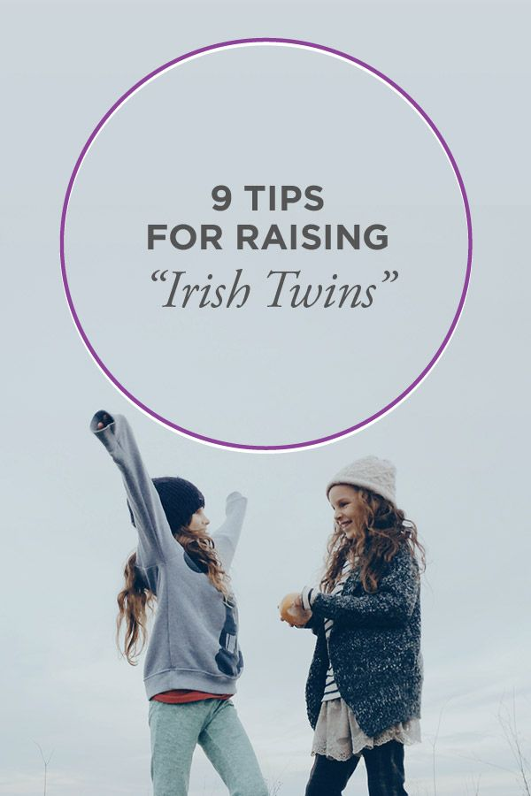 Irish Twins: Tips for Raising Them