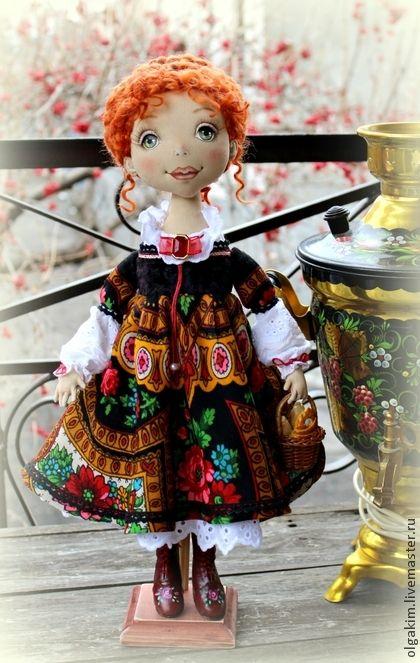 Коллекционные куклы ручной работы. Ярмарка Мастеров - ручная работа Кадриль. Handmade.