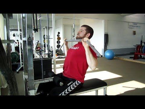 maxer.dk: Rygtræning med pulldown - begynder - YouTube