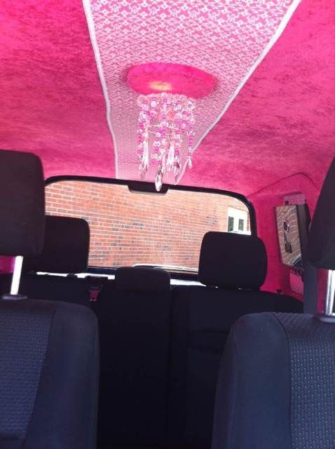 Scion xB Mario Kart Peach  *That interior!*