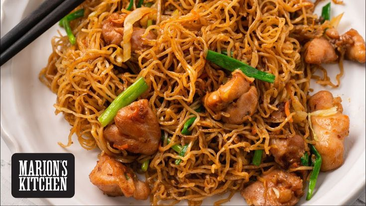 Chicken chow mein marions kitchen youtube asian