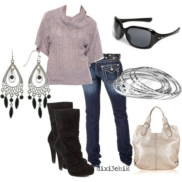 Cowl neck sweater: Dreams Closet, Style, Clothing, Fall Looks, Fall Outfit, Fall Fashion, Heels, Boots, Earrings
