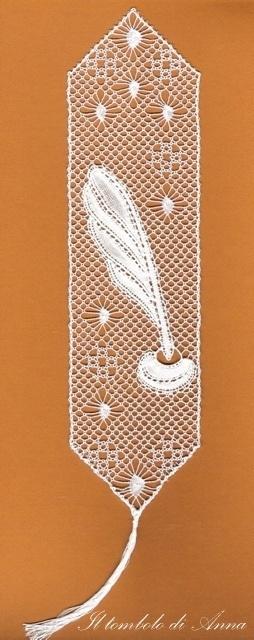 19# 07-09-10 segnalibro torchon by Anna's lace, via Flickr