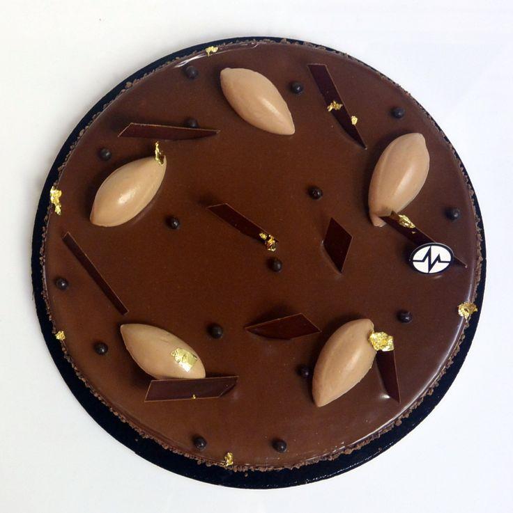 "Fantastik ""Tarte Chok"" (Chocolat, Gianduja, Grué de cacao)"