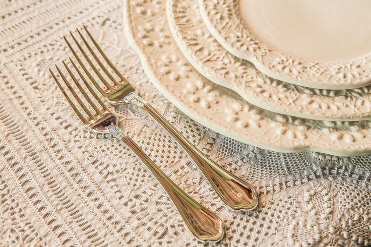 Faqueiro Florence para mesa romântica!