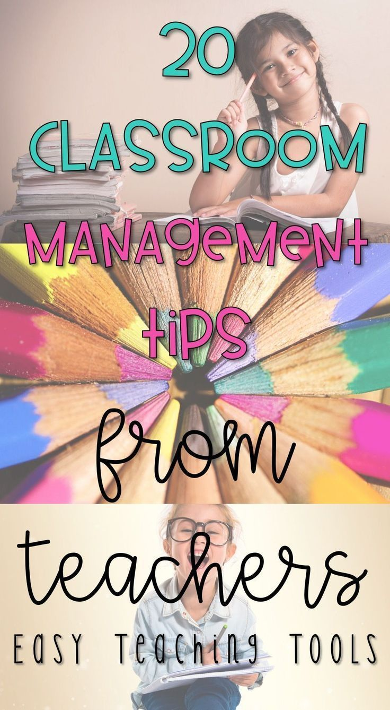 20 Classroom Management Tips from Teachers