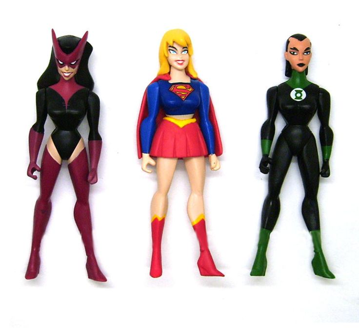 Action Figures of Super Girl with Green Lantern and Star Sapphire //Price: $17.98 & FREE Shipping //     #hashtag1