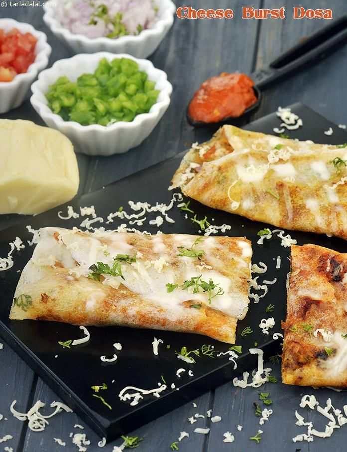 Cheese Burst Dosa, Snack