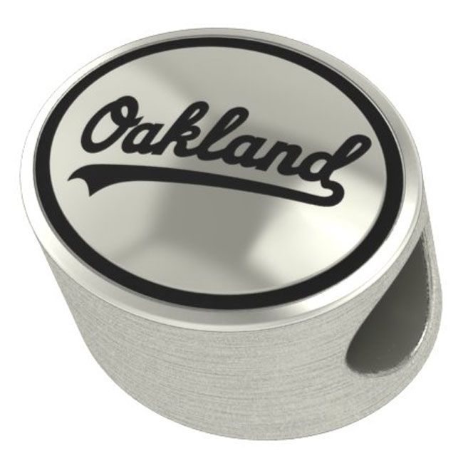 Oakland Athletics MLB Bead