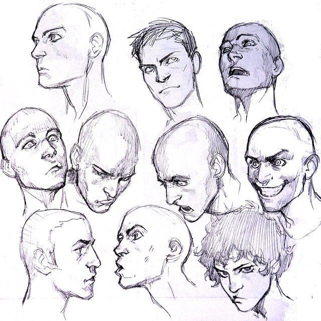 #art #study #sketch #face