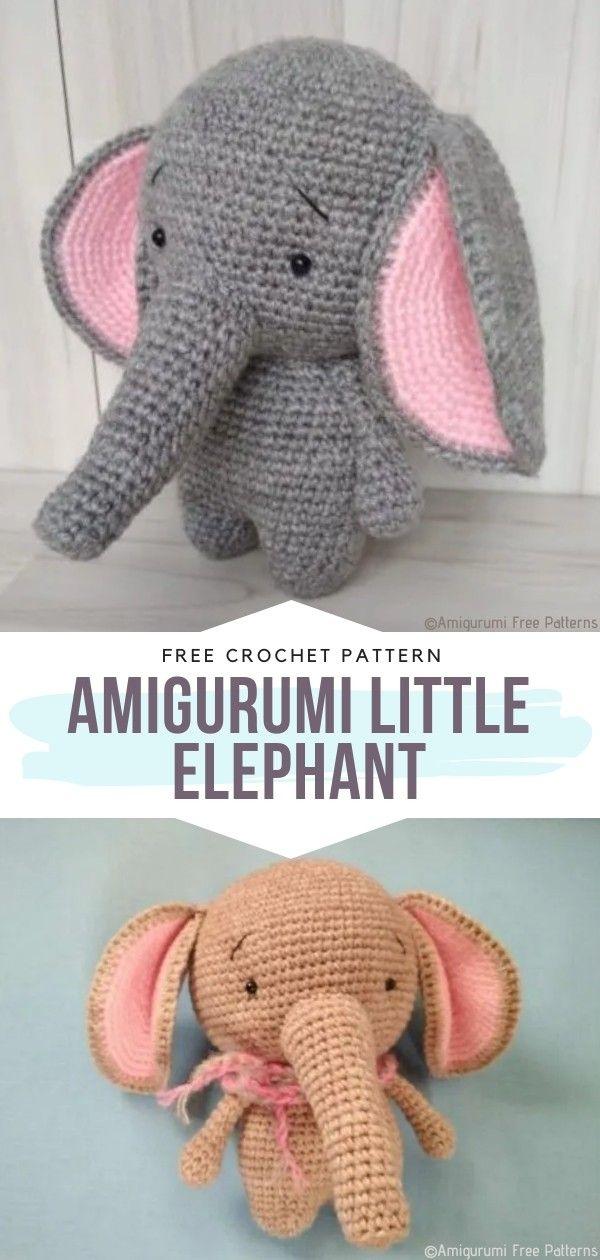 Free Baby Elephant Crochet Pattern | 1260x600