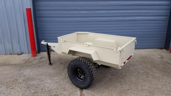 "Custom Trailer for your 4x4 Jeep, Truck or SUV.  I can build to your specs, mild to wild, but will give you a run down of the specs on the one pictured. 3"" Chan"