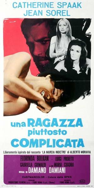 Una ragazza piuttosto complicata. D. Damiani, 1969