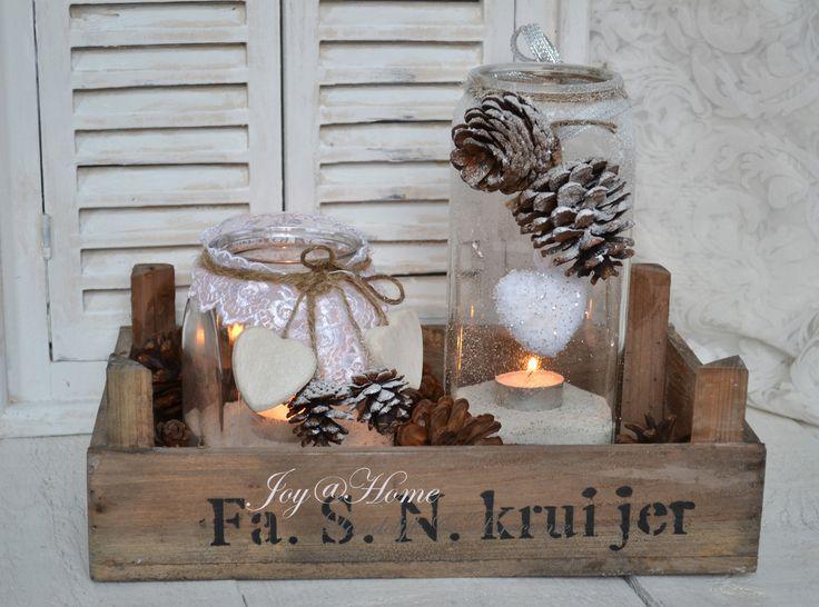 kerst+weckpot+kaarsje+dennenappel+sneeuw+kistje.jpg 1.500×1.113 pixels
