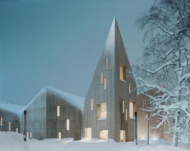 Reiulf Ramstad Architects, Romsdal Folk Museum, Molde, Norway