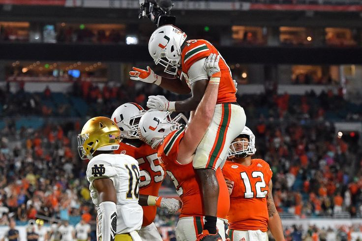 The Canes had a statement 41-8 victory over Notre Dame.  The Miami Hurricanes made a dang statement on Saturday night by beating the No. 3 Notre Dame Fighting Irish 41-8 in Hard Rock Stadium. With the victory, the Canes made a return to national relevance that we haven't seen since ...
