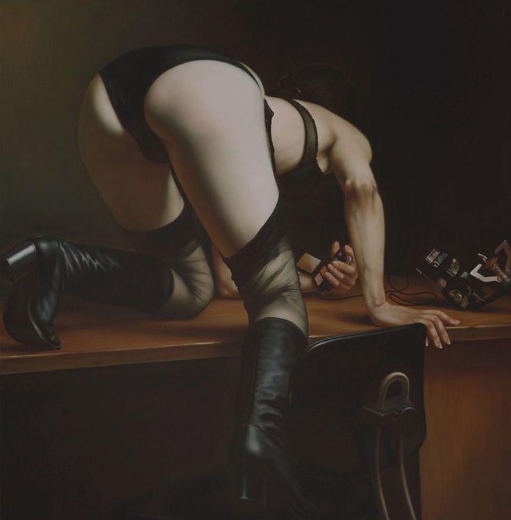 ©Karel Balcar // cocteldemente // #Pintura #realismo #painting #arte #art