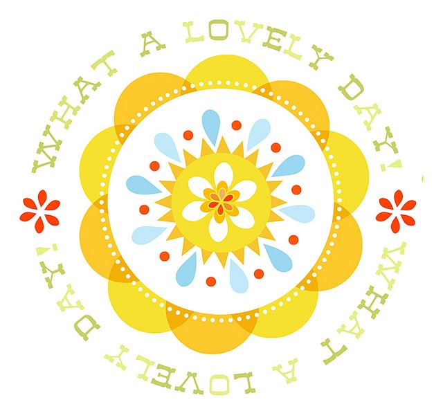 What a lovely day by katie daisy, adorable