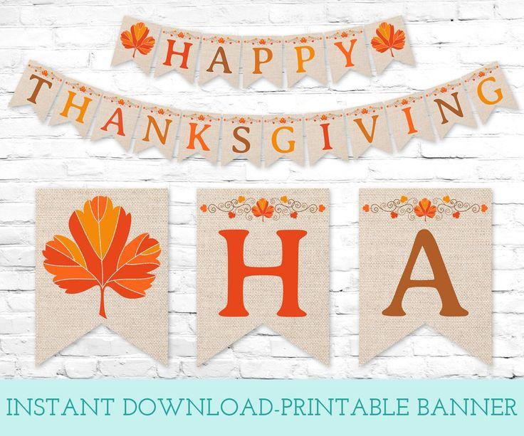25+ unique Thanksgiving banner ideas on Pinterest ...
