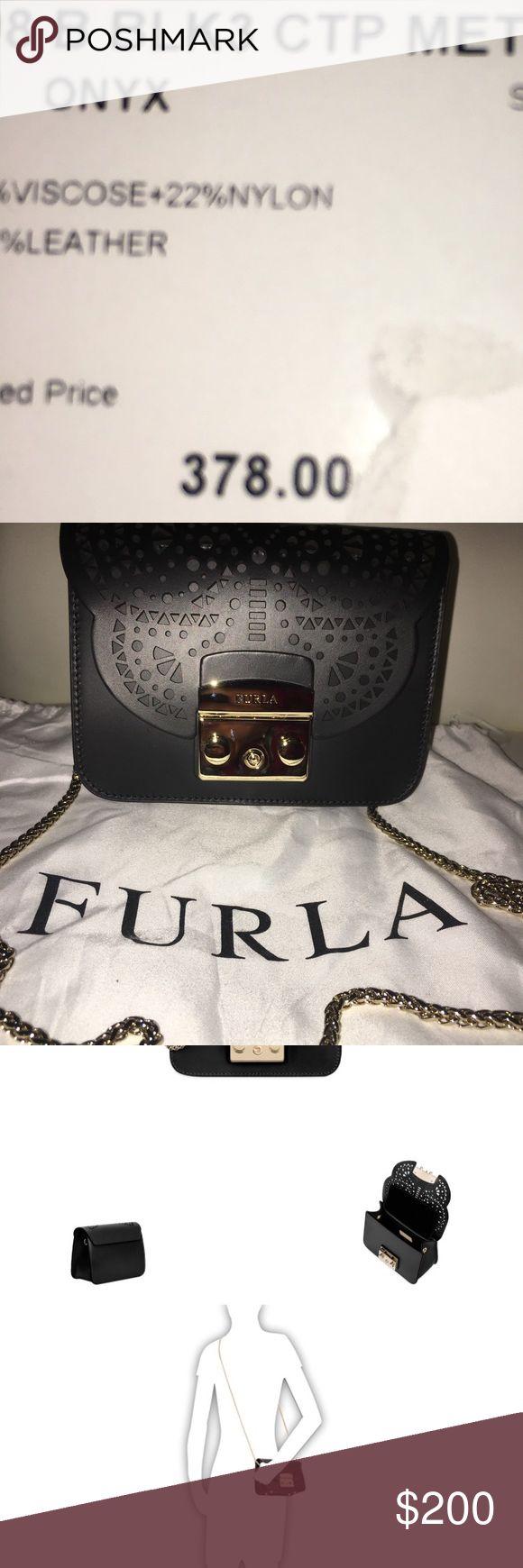 FURLA METROPOLIS  CROSSBODY ONYX Original price $378  Sale price $190 Furla Bags