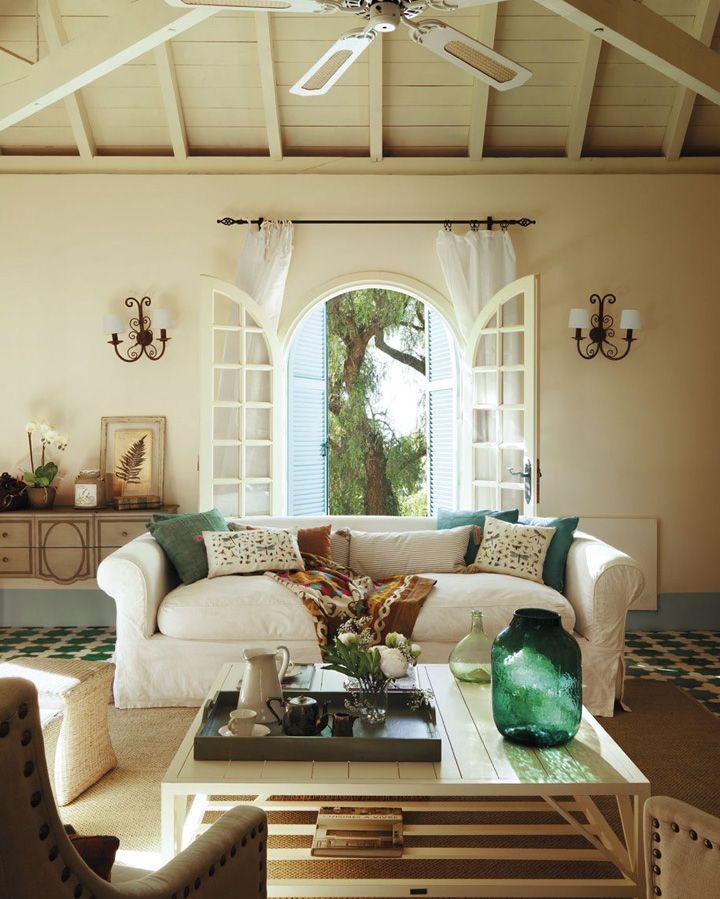 79 best images about casas de campo on pinterest madeira - Interior de casas de campo ...
