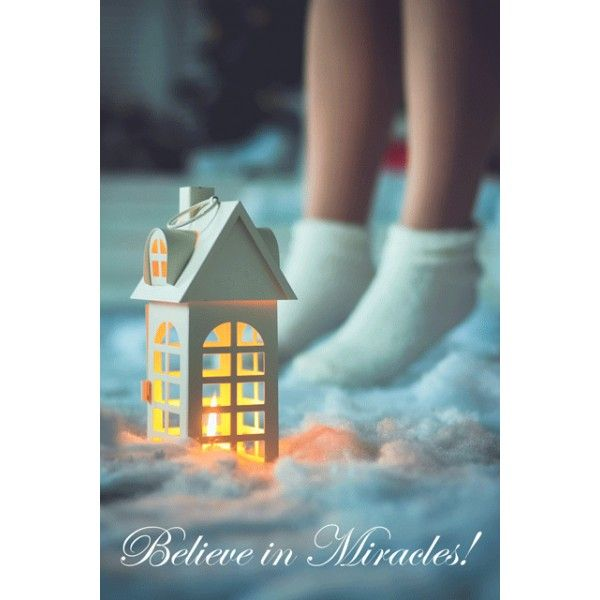 Believe in miracles! - Postcards, Christmas and New Year