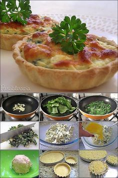 O recheio é bem simples: 1 prato fundo de folhas de espinafre refogadas no alho (2 dentes) e azeite, temperadas com sal e pimenta moída na hora. Depois de refogado, pique bem e misture com 300g de ricota amassada, 3 colheres (sopa) de salsinha picada, 1/3 de sachê de caldo de legumes em pó, sal, pimenta branca e noz-moscada.