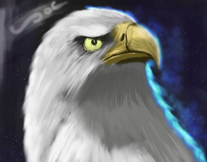 "Check out new work on my @Behance portfolio: ""Eagle Painting"" http://be.net/gallery/51757931/Eagle-Painting"