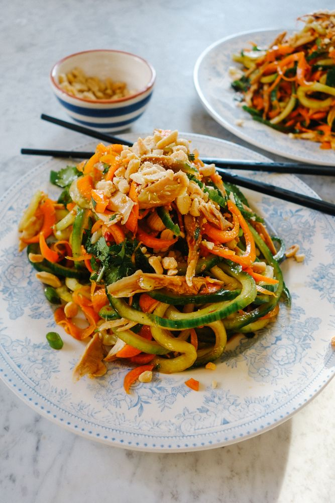 The Londoner » Pad Thai Salad (Low Carb!)