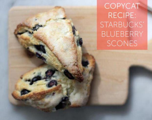 Copycat Recipe: Starbucks' Blueberry Scones
