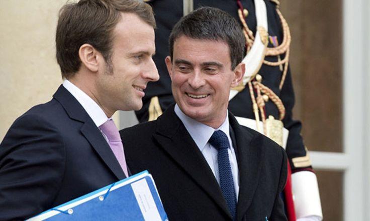 Quand Manuel Valls n'arrive pas à valider sa candidature sur le site En marche!